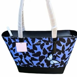Kate Spade Adley Butterfly Large Tote Shoulder Bag
